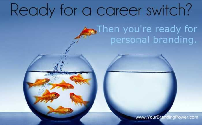 Want A Career Switch? Try Personal Branding #personalbranding