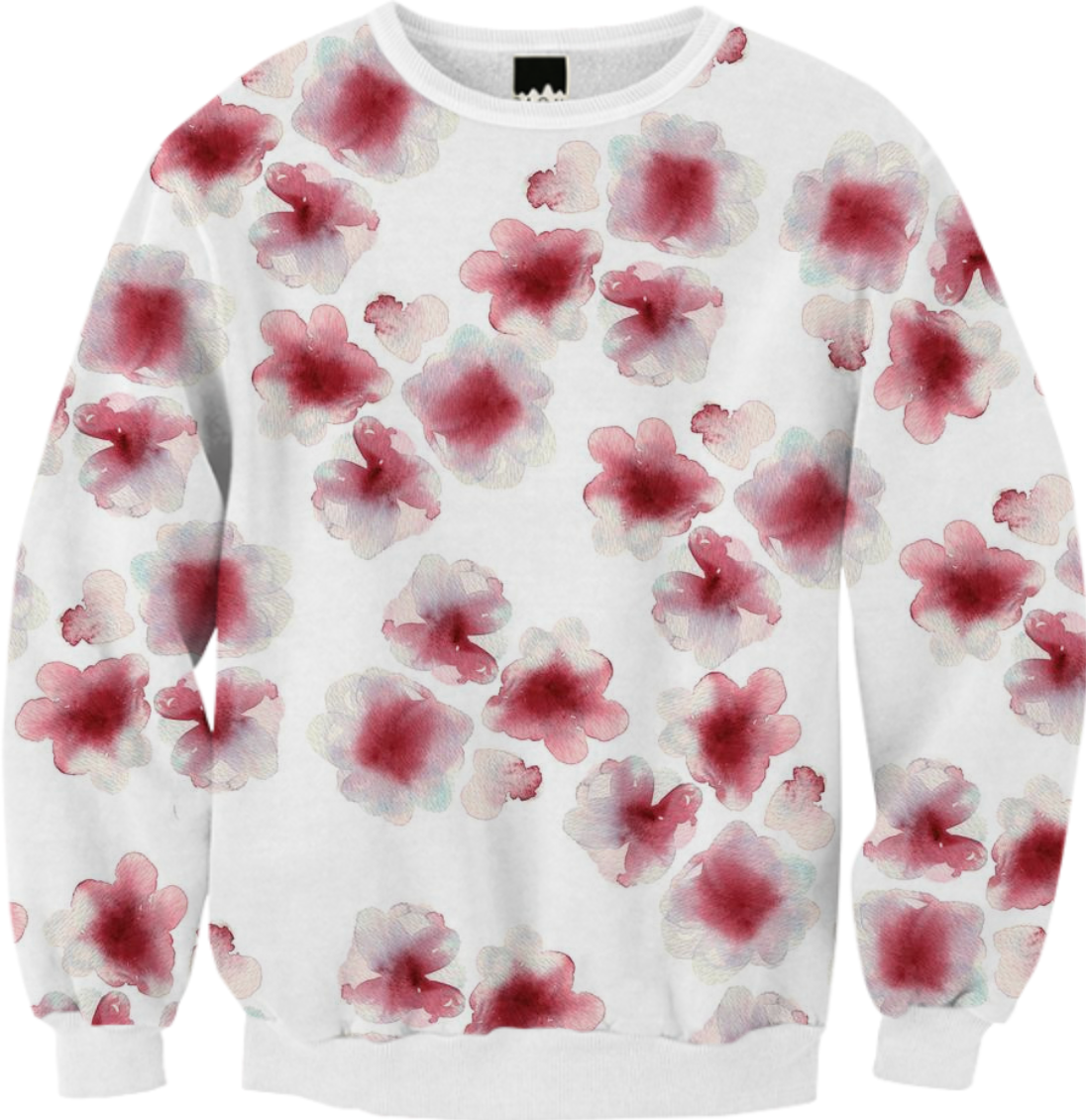 Blood flowers from Print All Over Me