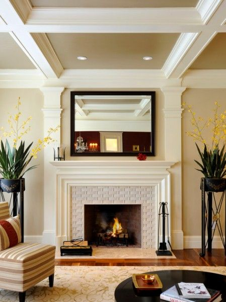Transitional Fireplace Contemporary Fireplace Mantels Transitional Fireplaces Fireplace Surrounds