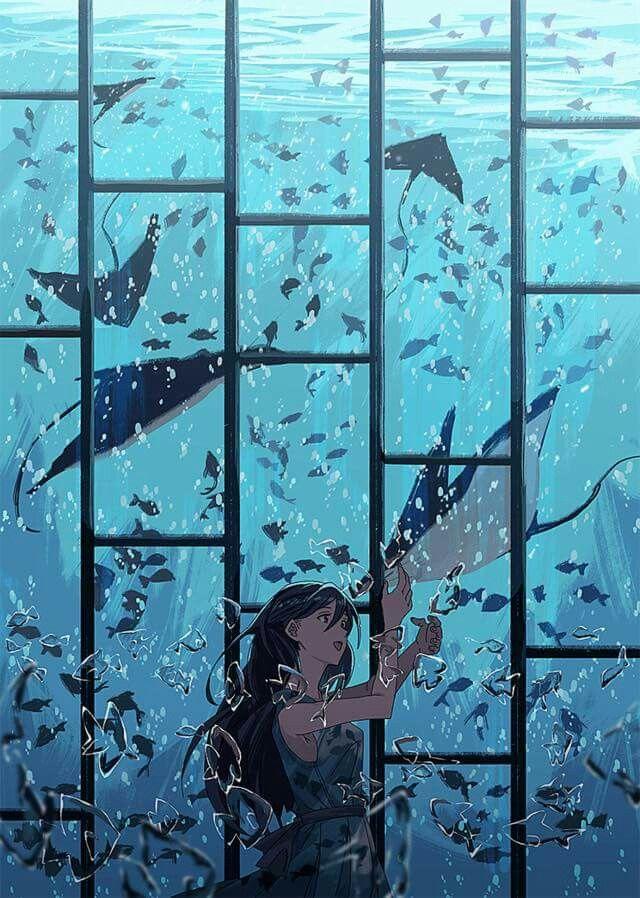 fiji water be kinda fresh | Aesthetic anime, Anime