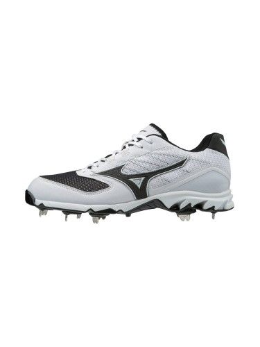 ab37edcb6f6 Mizuno Mens Baseball Shoes - 9-Spike Dominant 2 Low Mens Metal Baseball  Cleat - 320561