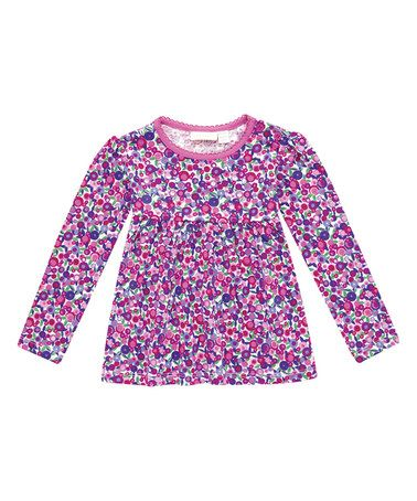 Look what I found on #zulily! Pink Floral Babydoll Top - Infant & Girls #zulilyfinds