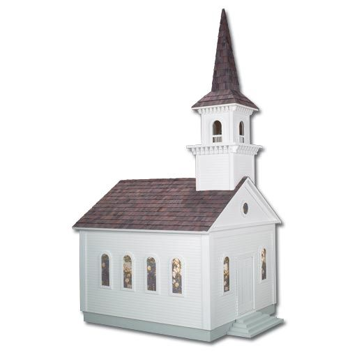 Country Church Dollhouse Kit By Real Good Toys