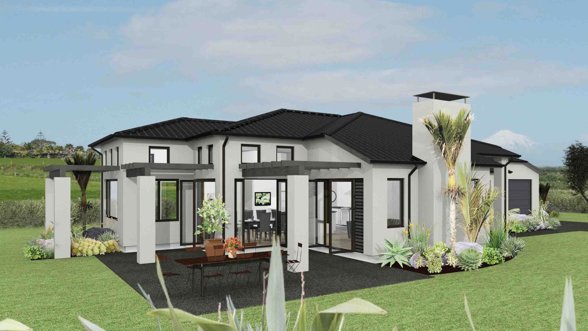 Landmark Homes Milan House Plan House Plans Open Plan Living Building A House