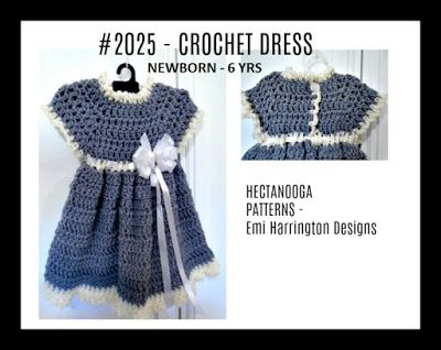 Hectanooga Patterns Free Crochet Pattern 2025 Grey Baby Girl