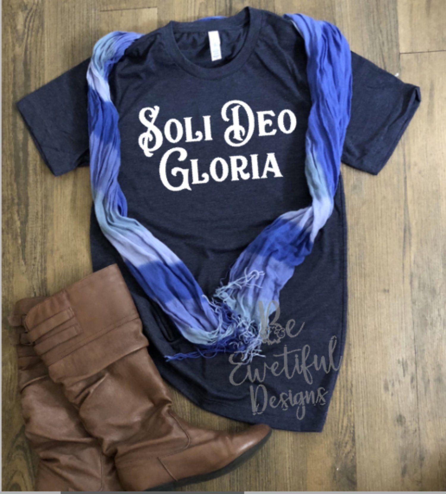 1bca74cbd Soli Deo Gloria T-Shirt | Beewetiful Designs Apparel