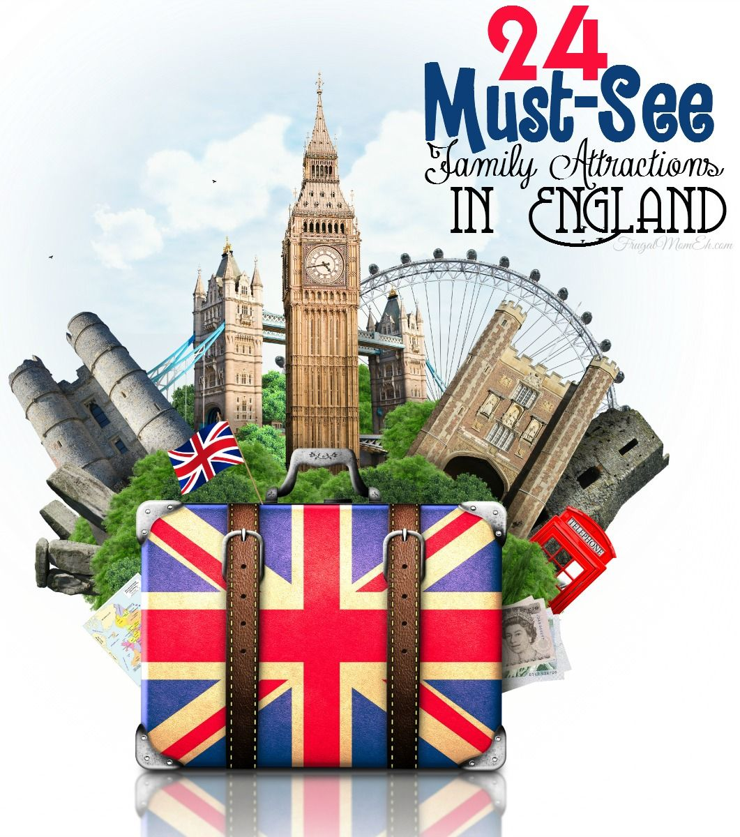 24 Must-See Family Attractions in England - Frugal Mom Eh!