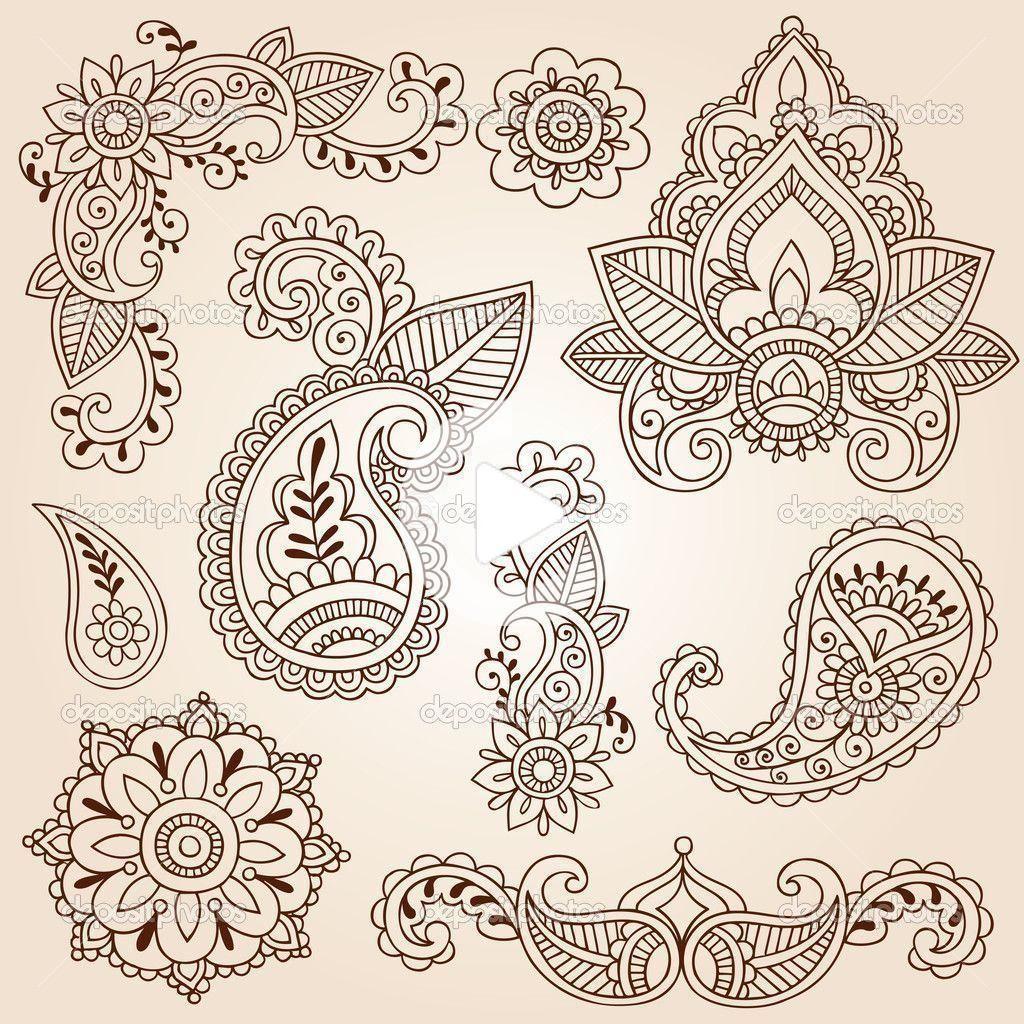 Mandala Flower Tatto