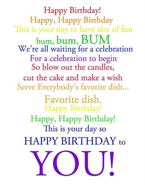 happy birthday words party ideas pinterest birthday happy