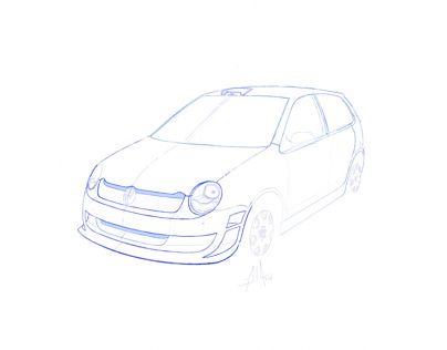 Volkswagen Polo Mk4 Bodykit