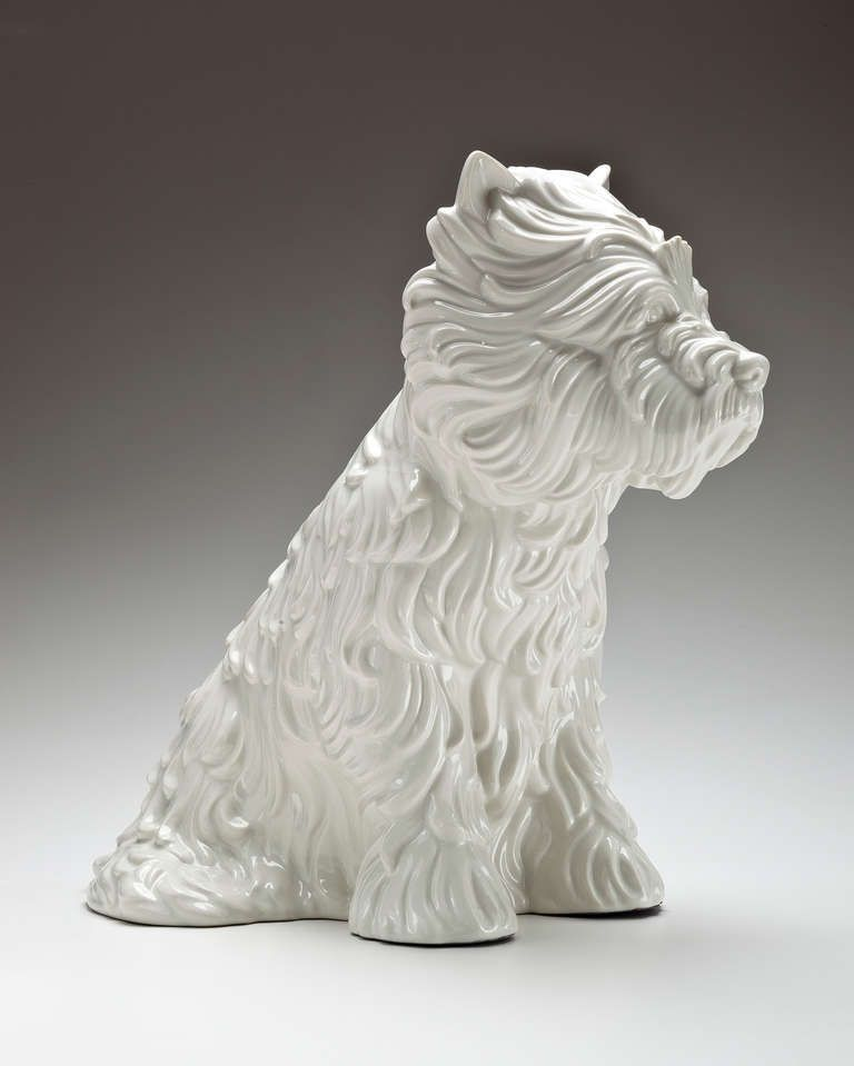 Jeff Koons Puppy Vase From A Unique Collection Of Antique And