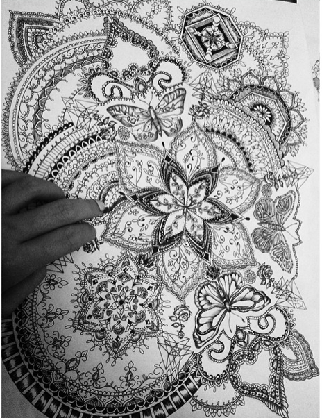 olivia fayne tattoo design eye candy body art pinterest tattoo designs tattoo and mandala. Black Bedroom Furniture Sets. Home Design Ideas