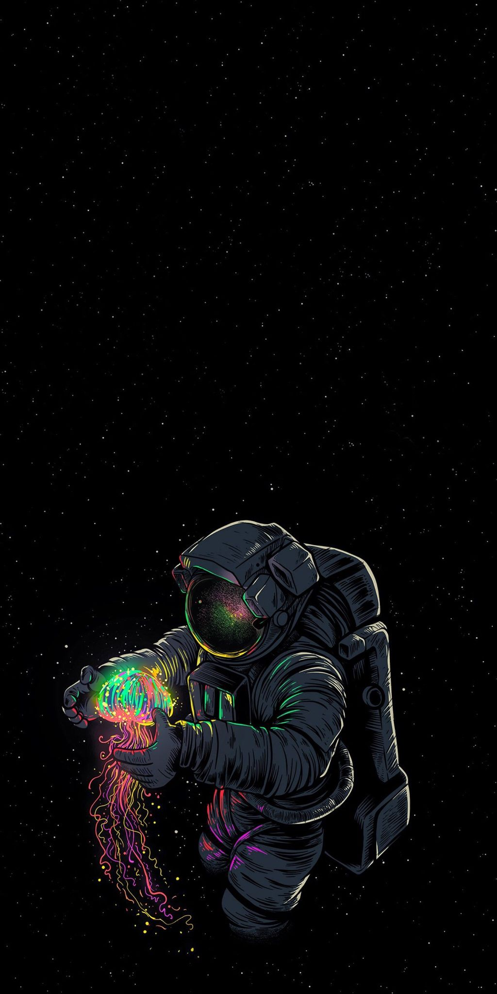 Amoled Wallpapers I Use wallpaper post Astronaut