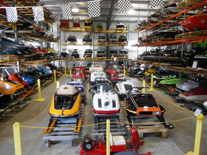 United Sports Antique and Vintage Snowmobile Museum. Turner, Maine ...