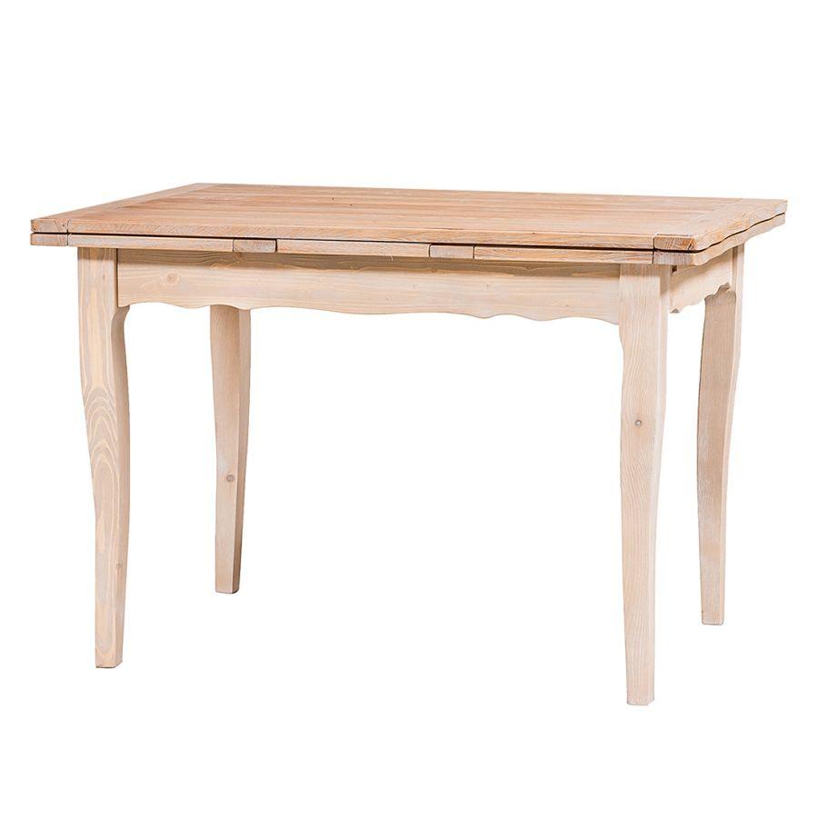 Tavolo da pranzo Onda I (allungabile) -Legno massello di ...