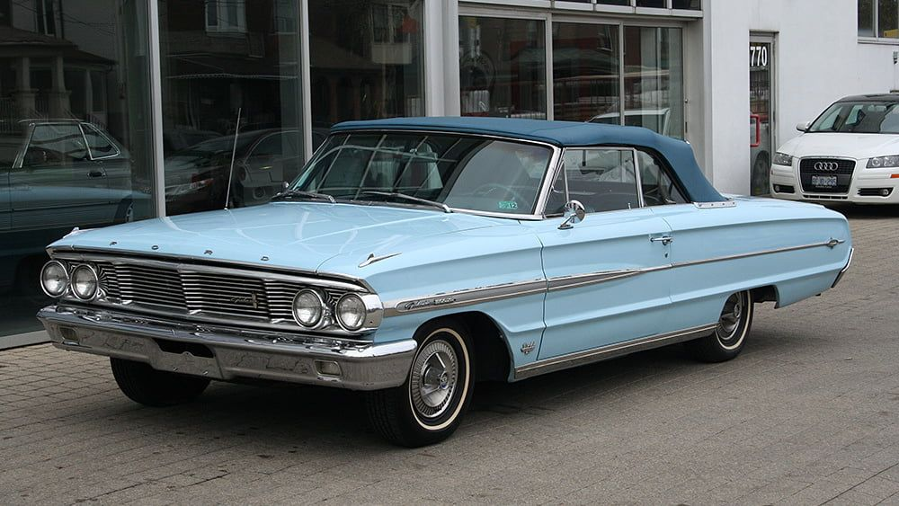 1964 Ford Galaxie 500xl Convertible Presented As Lot J60 1 At