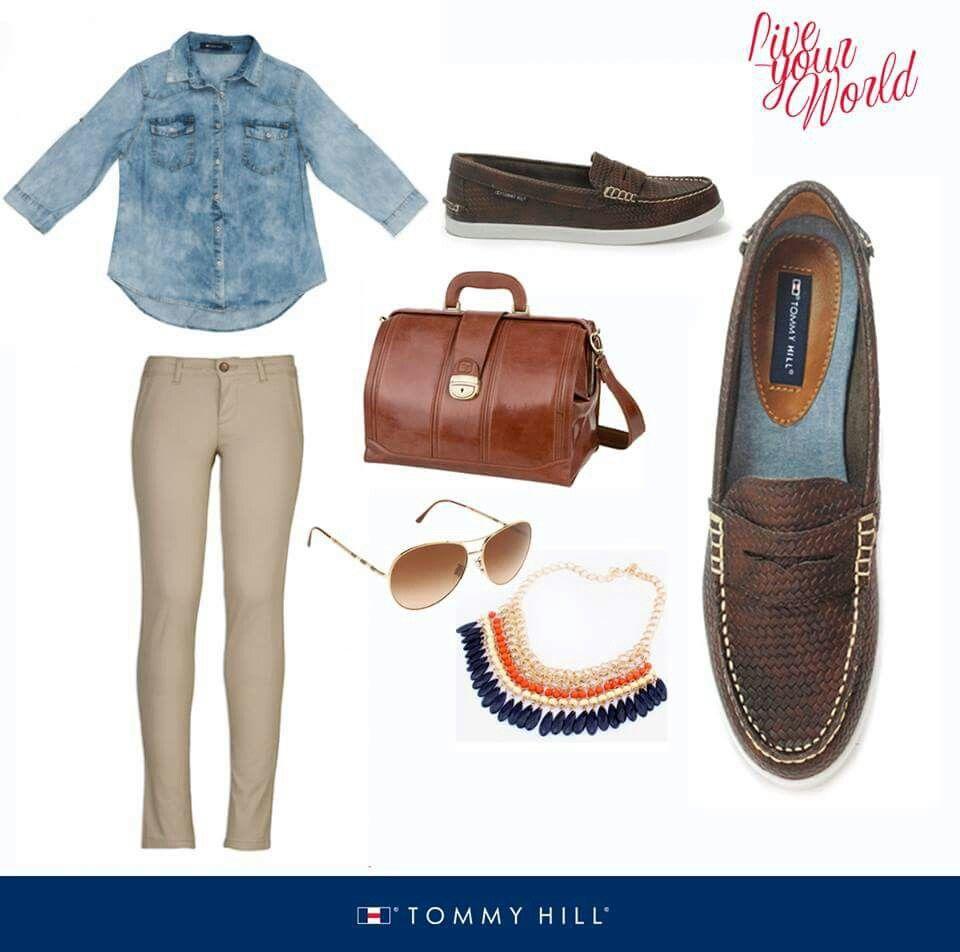 Arma tu #outfit con Tommy Hill y luce siemore espectacular y a la moda. ;)