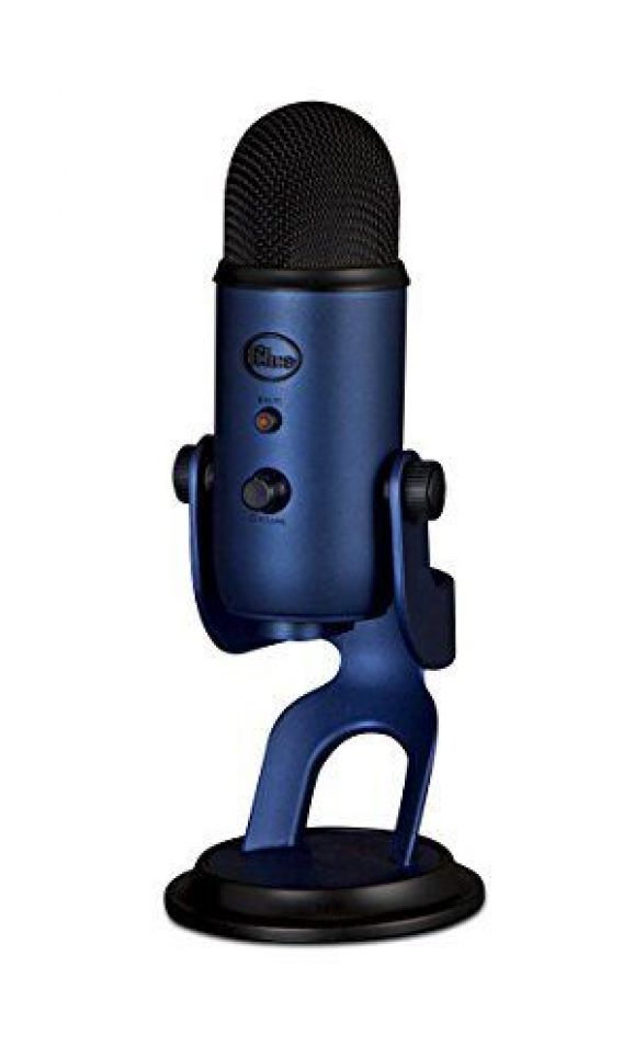 6 Blue Microphones Yeti Usb Microphone Midnight Blue Blue Microphones Yeti Usb Microphone Is A Top In 2020 Blue Yeti Usb Microphone Blue Microphones Usb Microphone