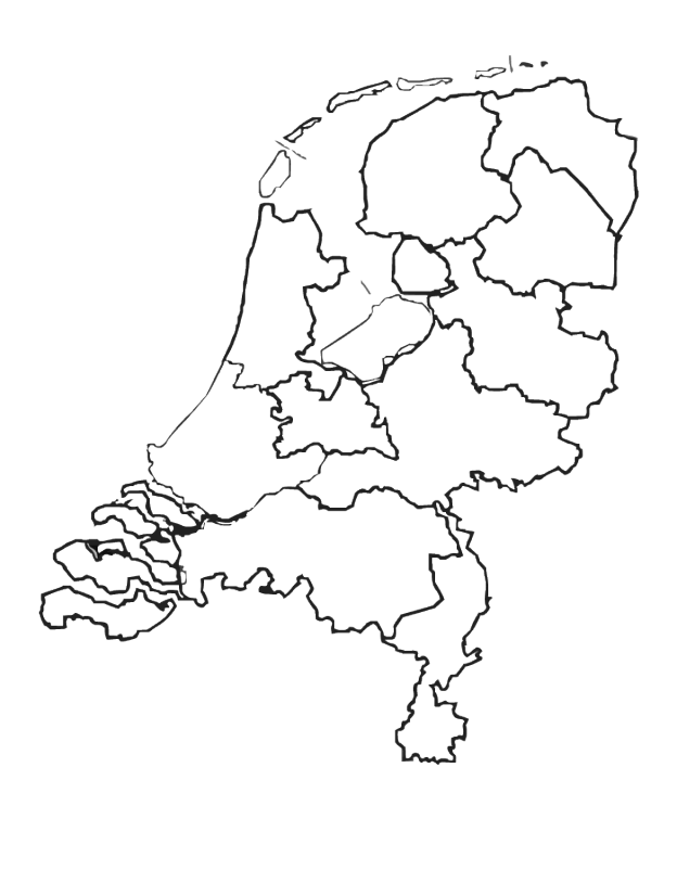 nederland kaart kleurplaten partner tatoeages nederland