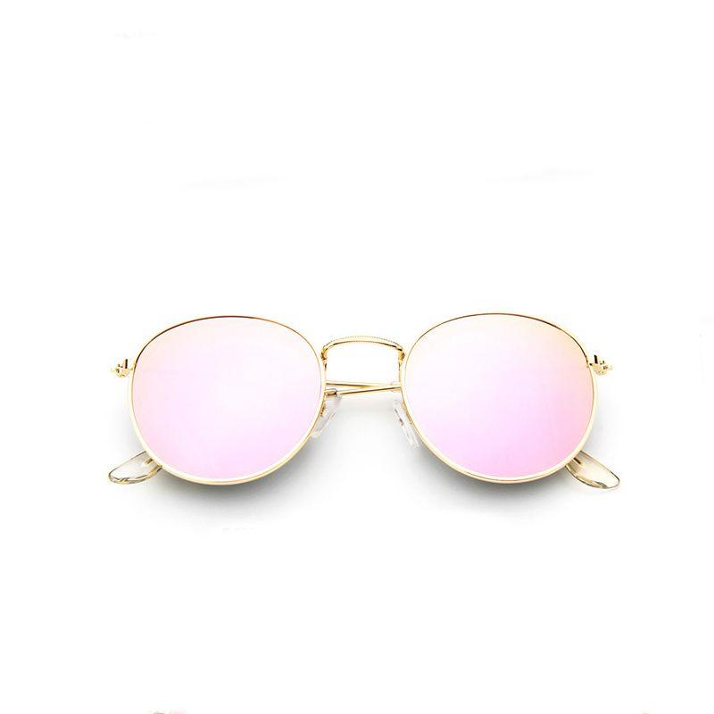 e653306c35 Cheap 2017 retro gafas de sol redondas mujeres hombres diseñador de la  marca gafas de sol para las mujeres de Aleación De espejo gafas de sol  mujer gafas de ...