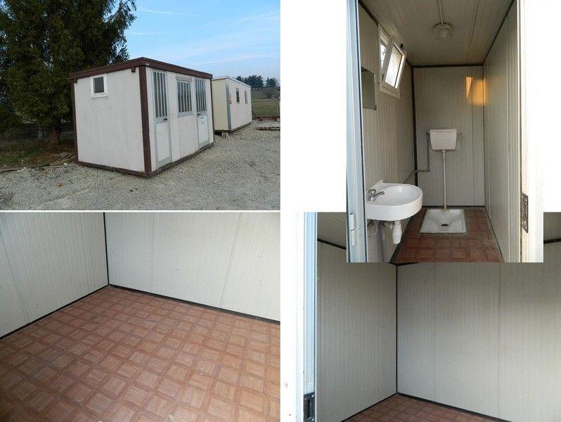 Finestra Bagno ~ Monoblocco coibentato da cantiere con bagno mt completo wc