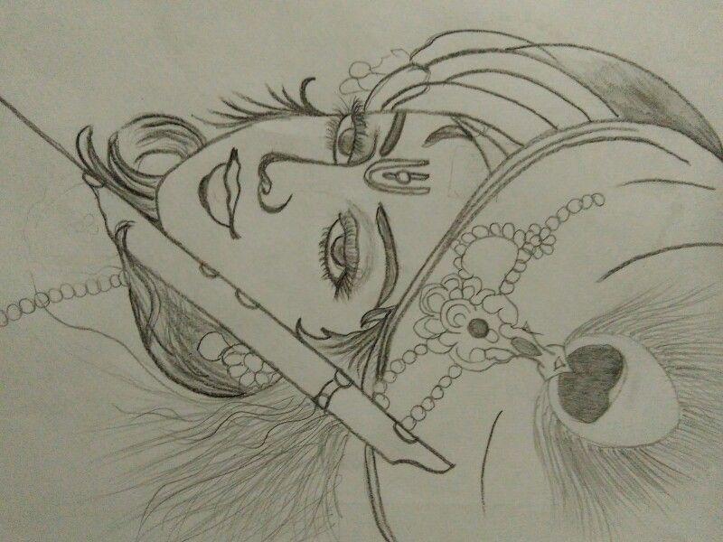 Drawing Of Lord Krishna Drawings Krishna Lord Krishna Lord