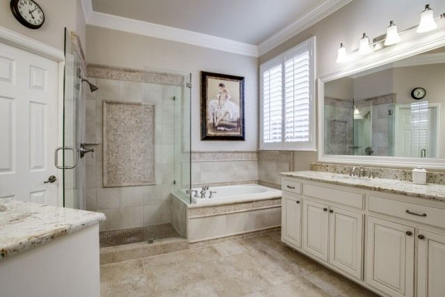 Master Bath Renovation in Frisco | DFW Improved | Home Remodeling ...