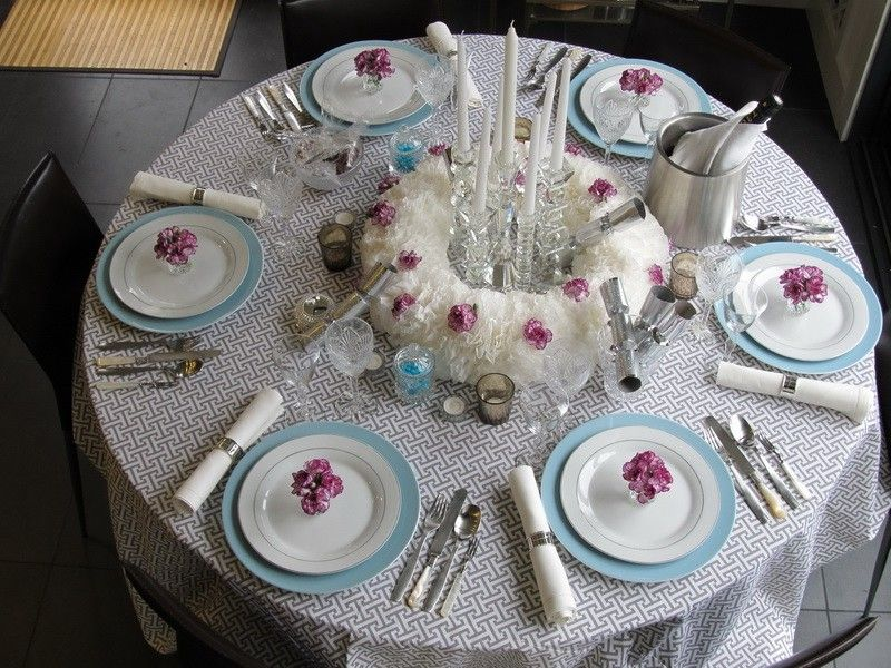 dining room table setting ideas midcityeast little bit everything ...