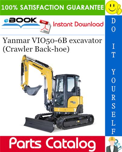 Yanmar VIO506B excavator (Crawler Backhoe) Parts Catalog