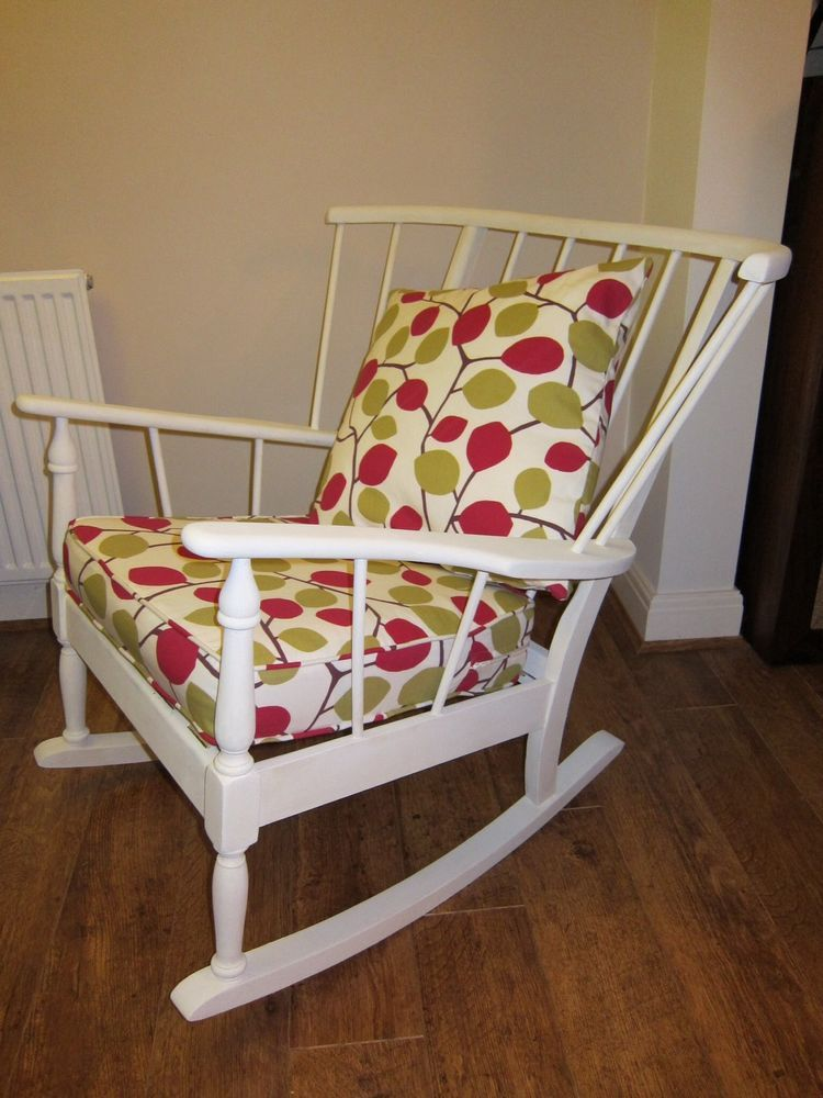 New 1950S Ercol Windsor Rocking Chair  Solid Wood Rocker Nursing Awesome Second Hand Ercol Dining Room Furniture Decorating Inspiration
