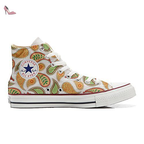 Make Your Shoes Converse Customized Adulte - chaussures coutume (produit artisanal) Back Groud Abstract size 37 EU UjPatG0m