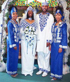 Wedding Dresses in Senegal