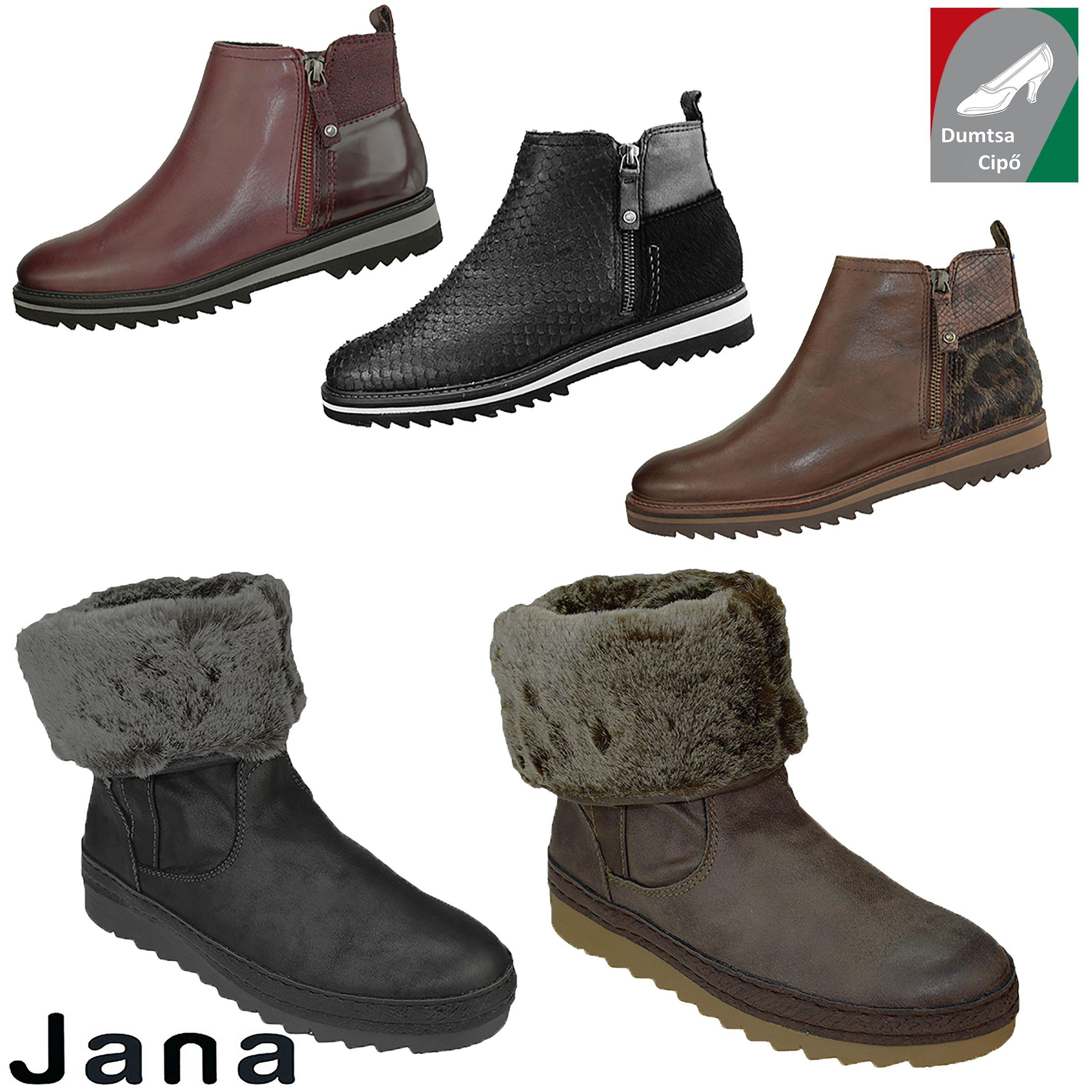 ... Jana cipő webáruház. Bokacsizmák széles lábra. 2015951569