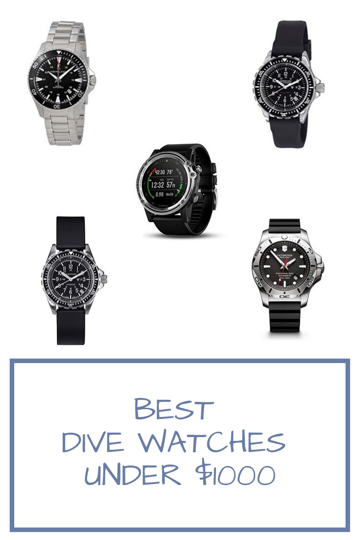 The Best Dive Watches Under $1000 | Dive watches, Diving
