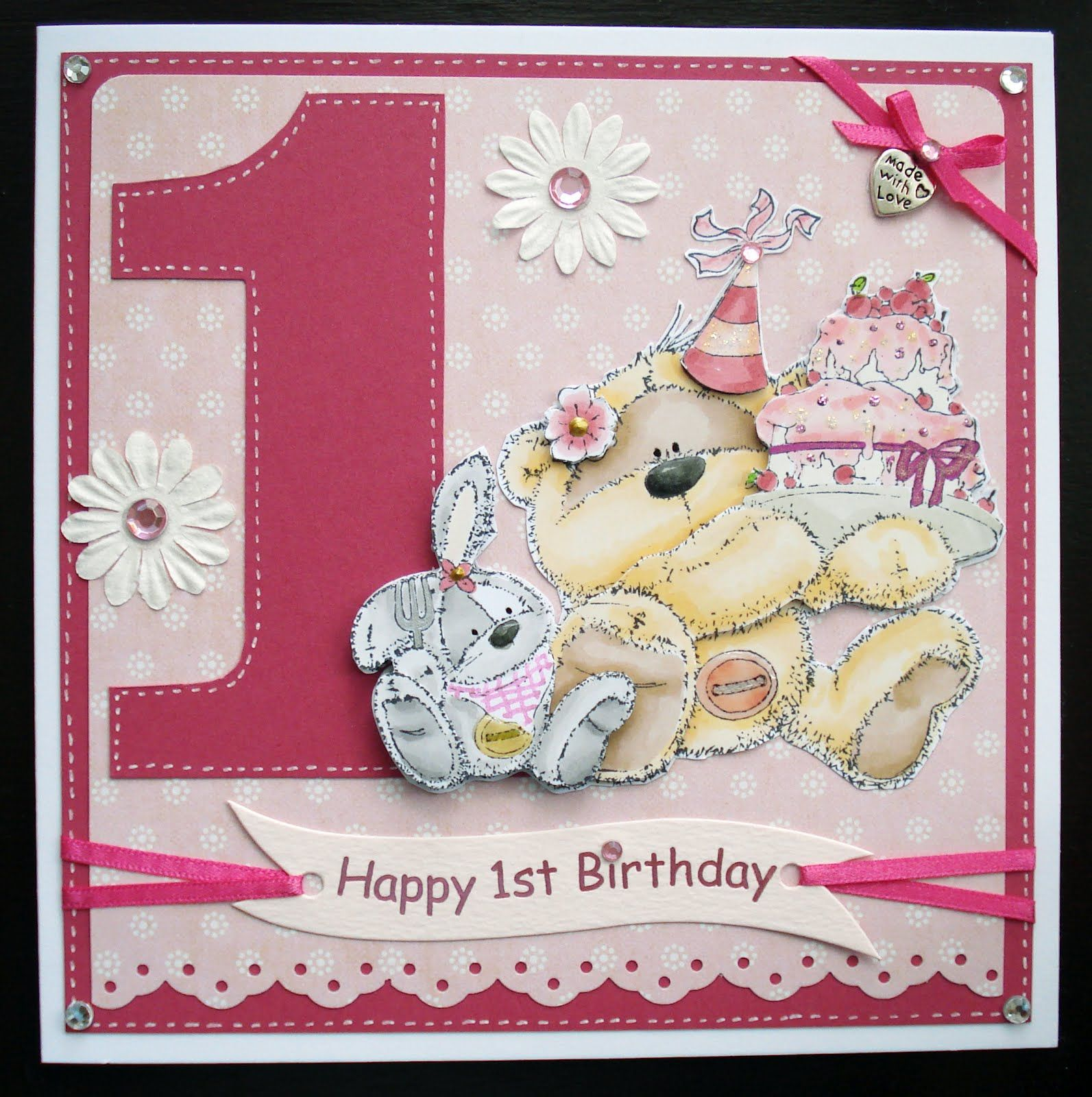 Babies 1st Birthday Card Kaardvark Megan's First