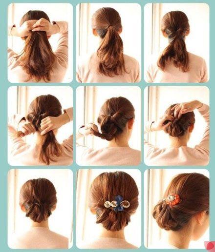 画像付き 自分で簡単にセットする結婚式のお呼ばれ髪型 ミディアム編
