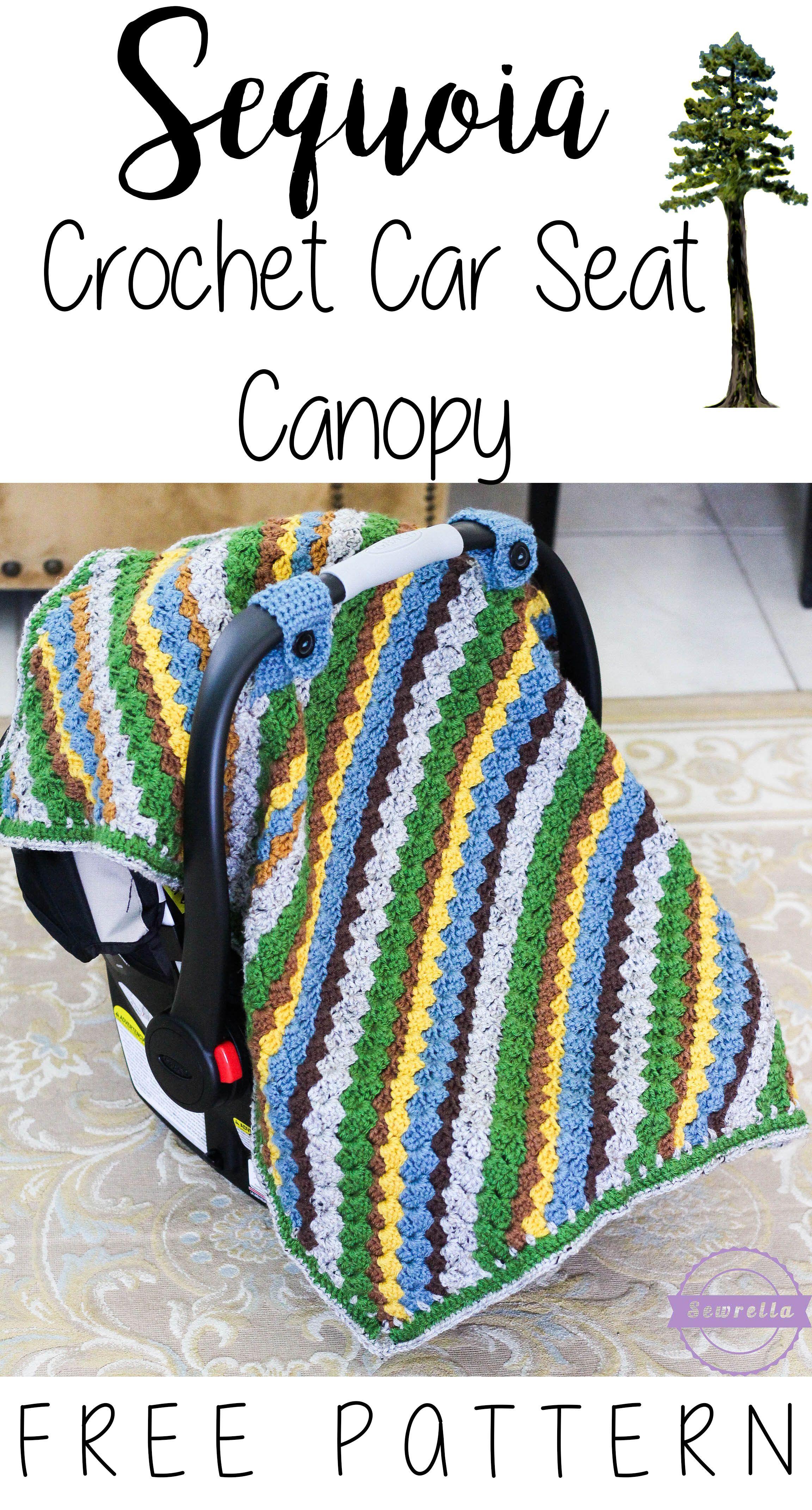 Sequoia crochet car seat canopy crochet car car seat canopy and blanket sequoia crochet car seat canopy by ashleigh free crochet pattern bankloansurffo Images