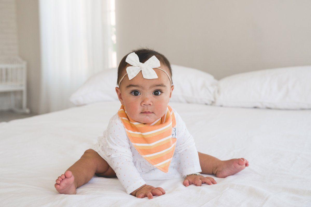 Girls Lovebug Baby Bib by Cuddles Collection