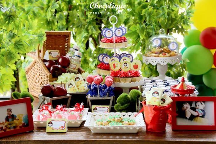 Snow White Party Ideas Planning Idea Supplies Seven Dwarfs Cake