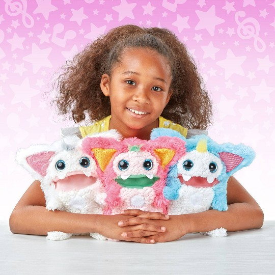 Buy Rizmo Evolving Musical Friend Interactive Plush Toy With Fun Games Snow For Usd 0 00 Toys R Us In 2020 Musical Plush Popular Kids Toys Plush Toy