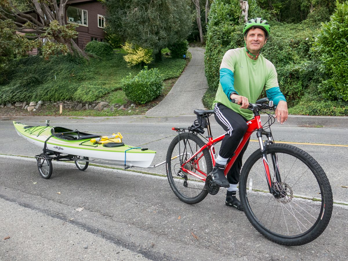 Kayak Bike Trailer Bike Pinterest