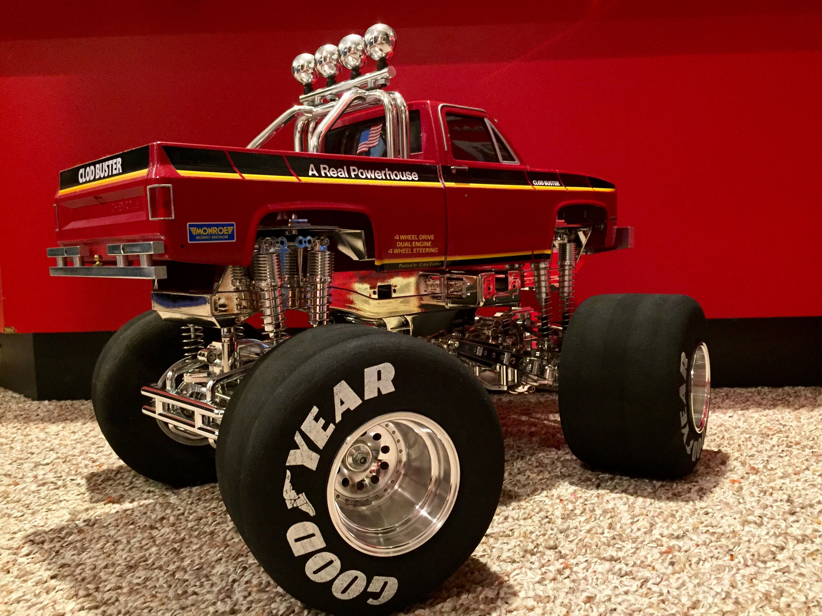 Pin By Michael Charles On Vintage Clod Busters Rc Cars And Trucks Rc Monster Truck Rc Cars