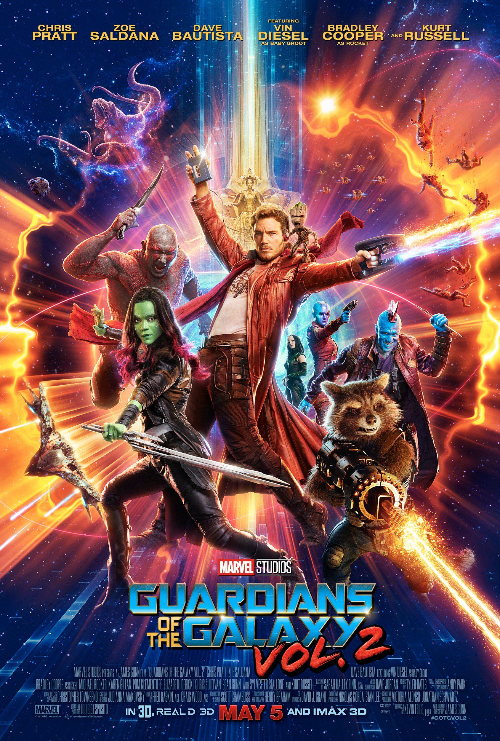 Guardians Of The Galaxy Vol 2 Check Out The Awesome New Trailer