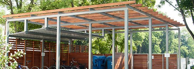 pergola mit untergehangenem dach aus trapezblech mmmmmmmm pinterest pergola und dachs. Black Bedroom Furniture Sets. Home Design Ideas