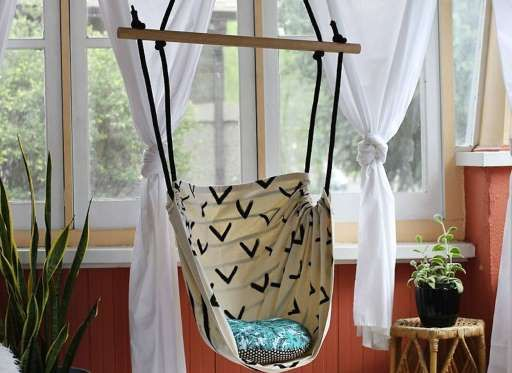 Building An Indoor Swing For Your Home? Childu0027s Play! This Fun And  Functional Hanging