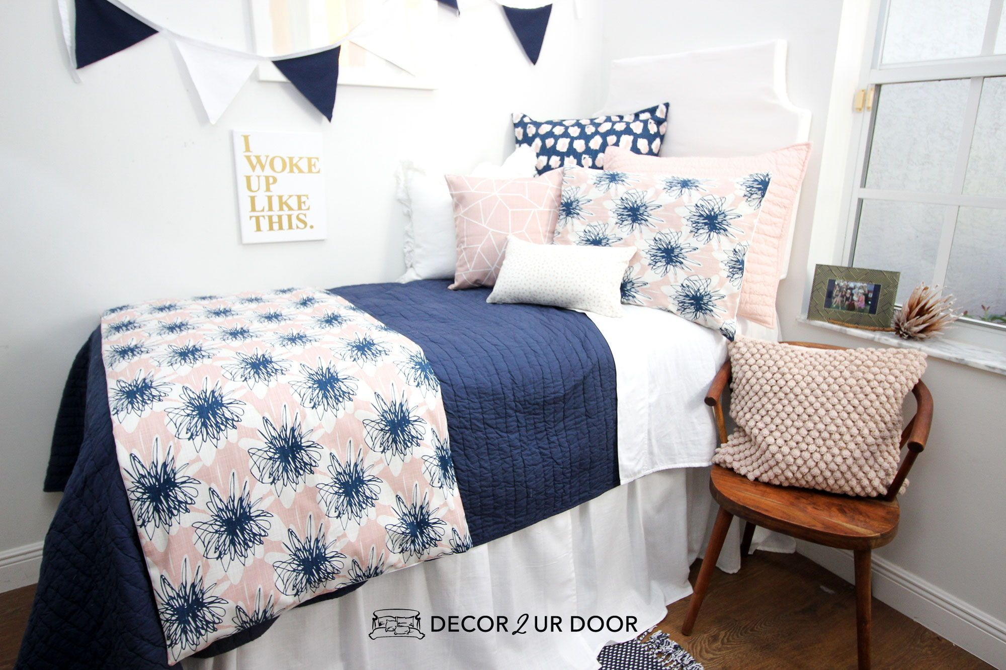 Looking For Dorm Room Inspiration Check Out These Cute Dorm Room Ideas And Get Inspired In 2020 Dorm Bedding Sets Dorm Room Bedding Cute Dorm Rooms