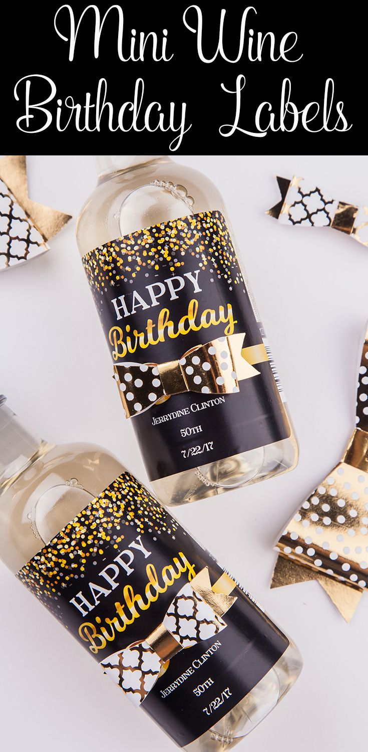 Add That Special Touch To Your Birthday Party With Personalized Labels