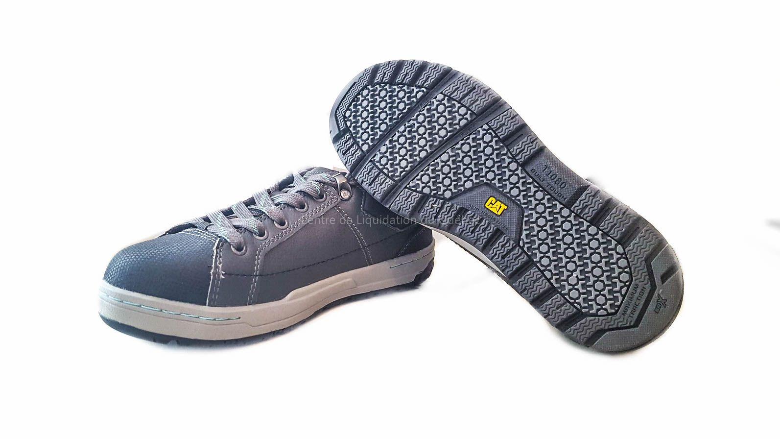 pas cher pour réduction 4dbc5 e8ddb Chaussure de sécurité CATerpillar T-1080 (Couleur Gris ...