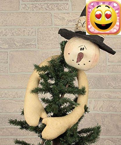 """#stylish Limited quantities available. #Believe Snowman Tree Topper 8"""" Tall - 25"""" Tall with Stick Priced and sold individually. Designed and manufactured by Hone..."""