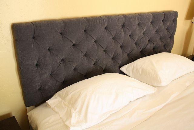 Bettlehne Diy Und Selbermachen, Bett, Schlafzimmer, Basteln, Diy Getuftet  Kopfteil, Selbstgemachte